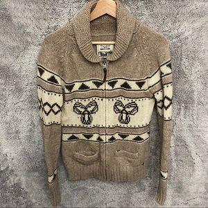 Aritzia TNA Sea to Sky Zip Sweater